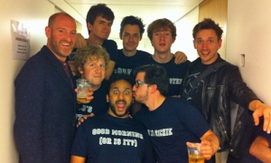Live at Edinburgh Fringe gang