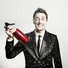 Comedian John Robbins performing tomorrow