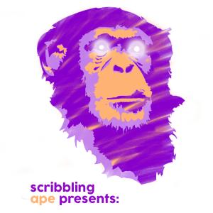 scribblign ape logo