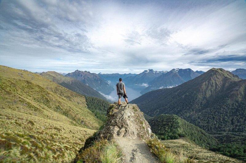 Hiking the Kepler Track, NZ, Photo Credit Lee Steenbergen