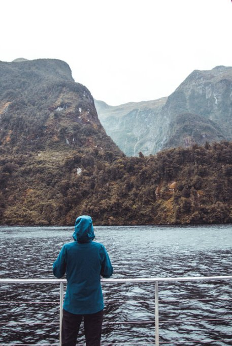 It rains a lot in Fiordland