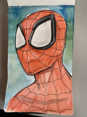 1 Spider-Man Painting