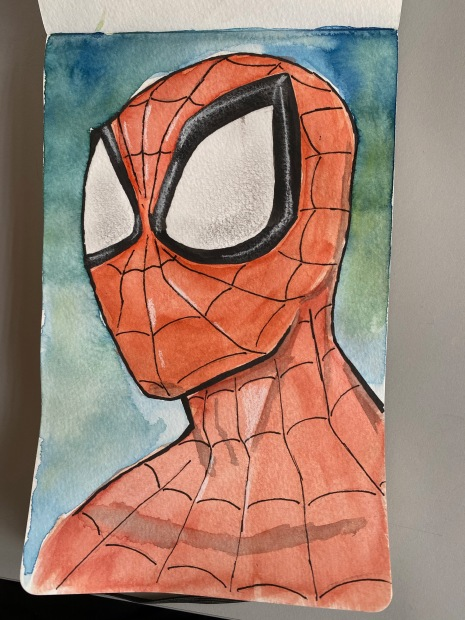 1 Spider-Man Painting