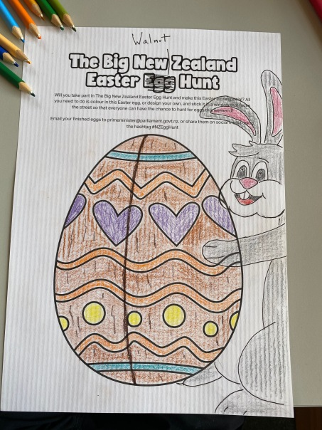9 Easter colouring challenge