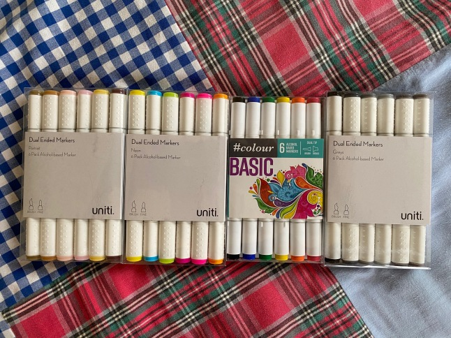 13 My new colouring pens!
