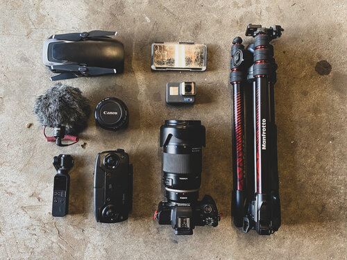 Some of my camera gear