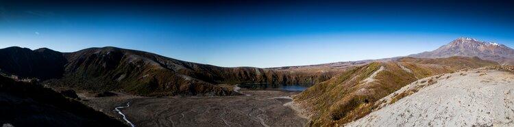Lower Tama Lake Panorama