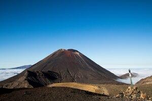 Mt Ngauruhoe from the Tongariro Alpine Crossing