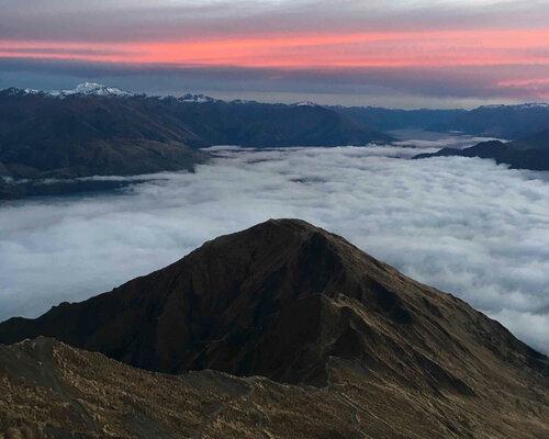 The world famous Roys Peak at Sunrise