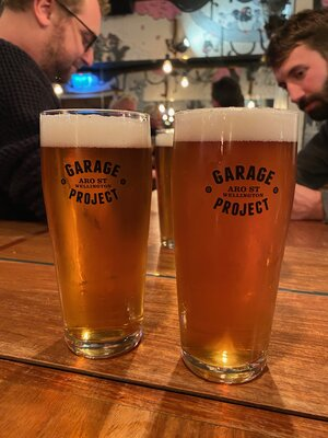 At the Garage Project Taproom